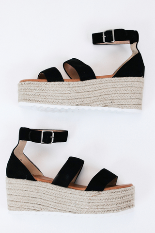 ZIBA STRAW PLATFORM BY CHINESE LAUNDRY