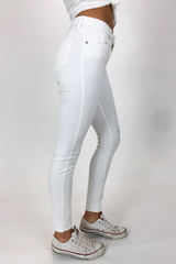 OPTIC WHITE SKINNY JEAN