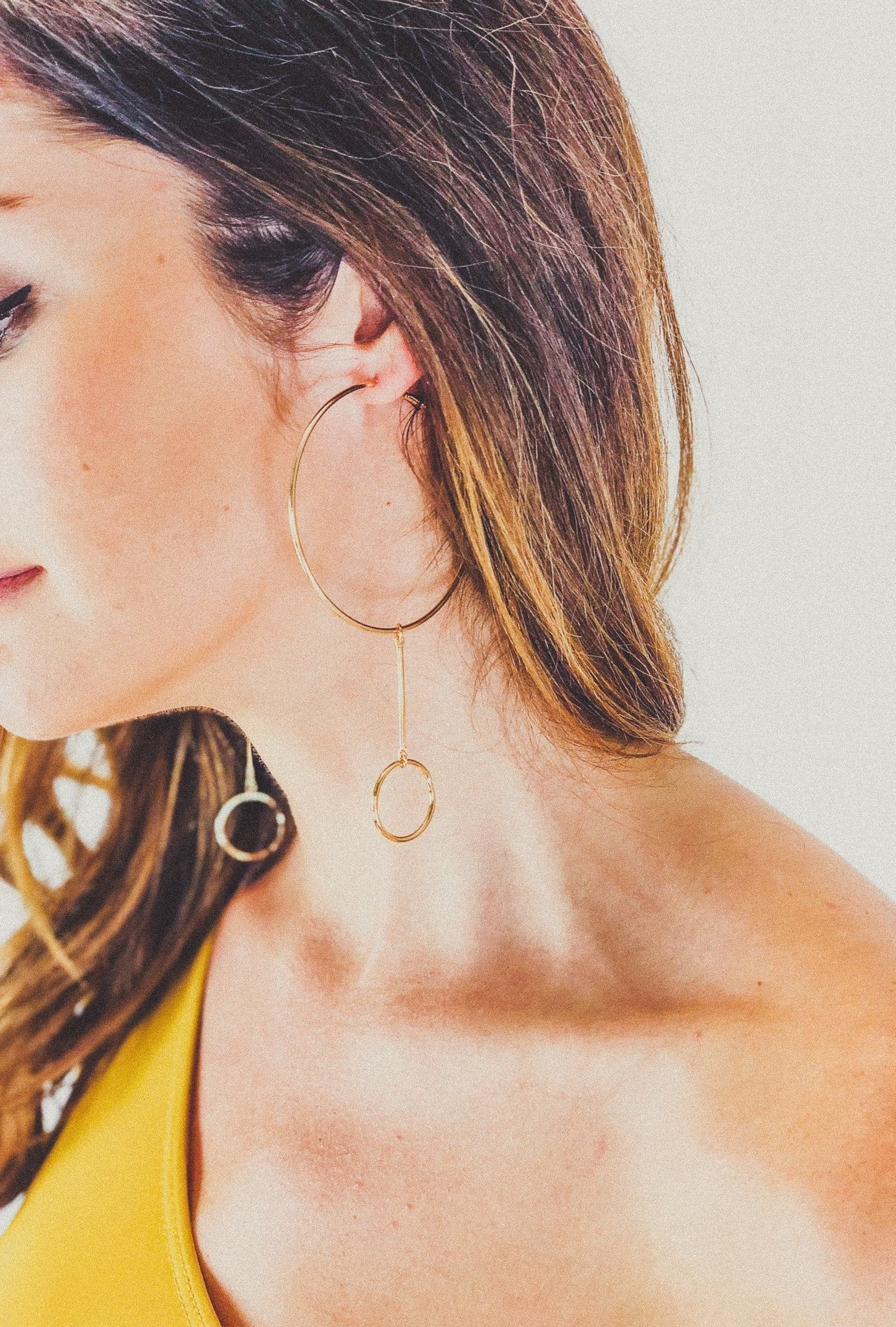 RELLA EARRING IN GOLD
