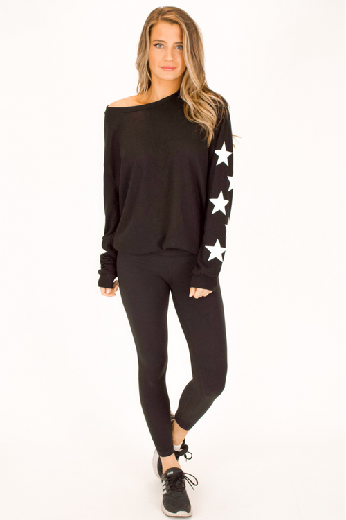 OUR SOFTEST STAR PULLOVER