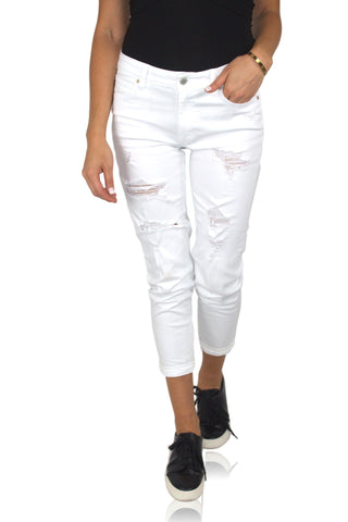 BLAZE DENIM IN OFF WHITE