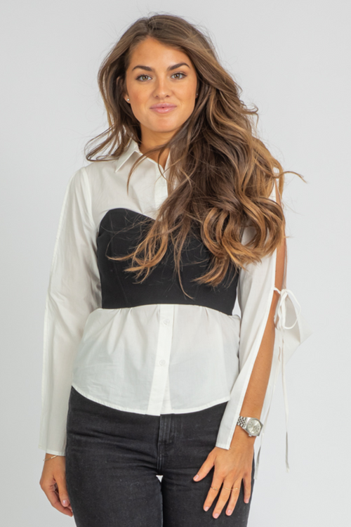 IN THE CITY BLOUSE