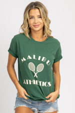 MALIBU ATHLETICS GRAPHIC T-SHIRT