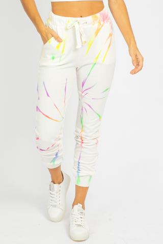 BLACK TIE DYE SPLATTER SET