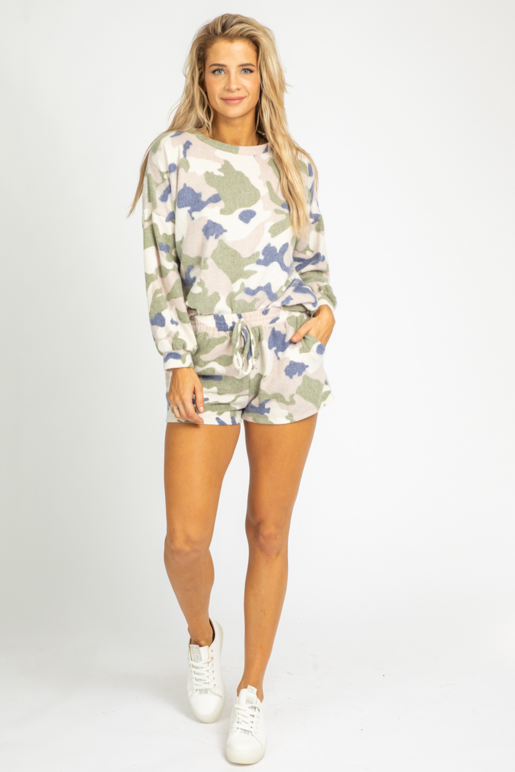 CAMO COZY RELAXED SET