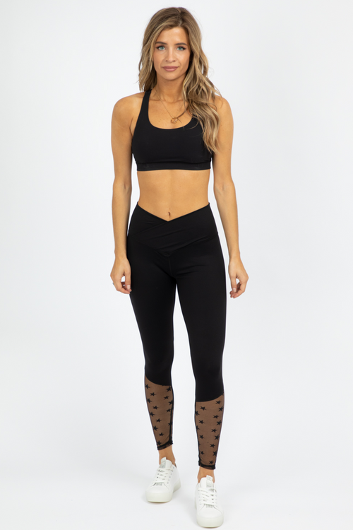 STAR MESH LEGGINGS
