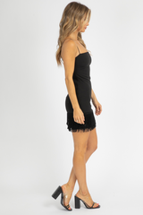 LIKELY MELLY DRESS IN BLACK
