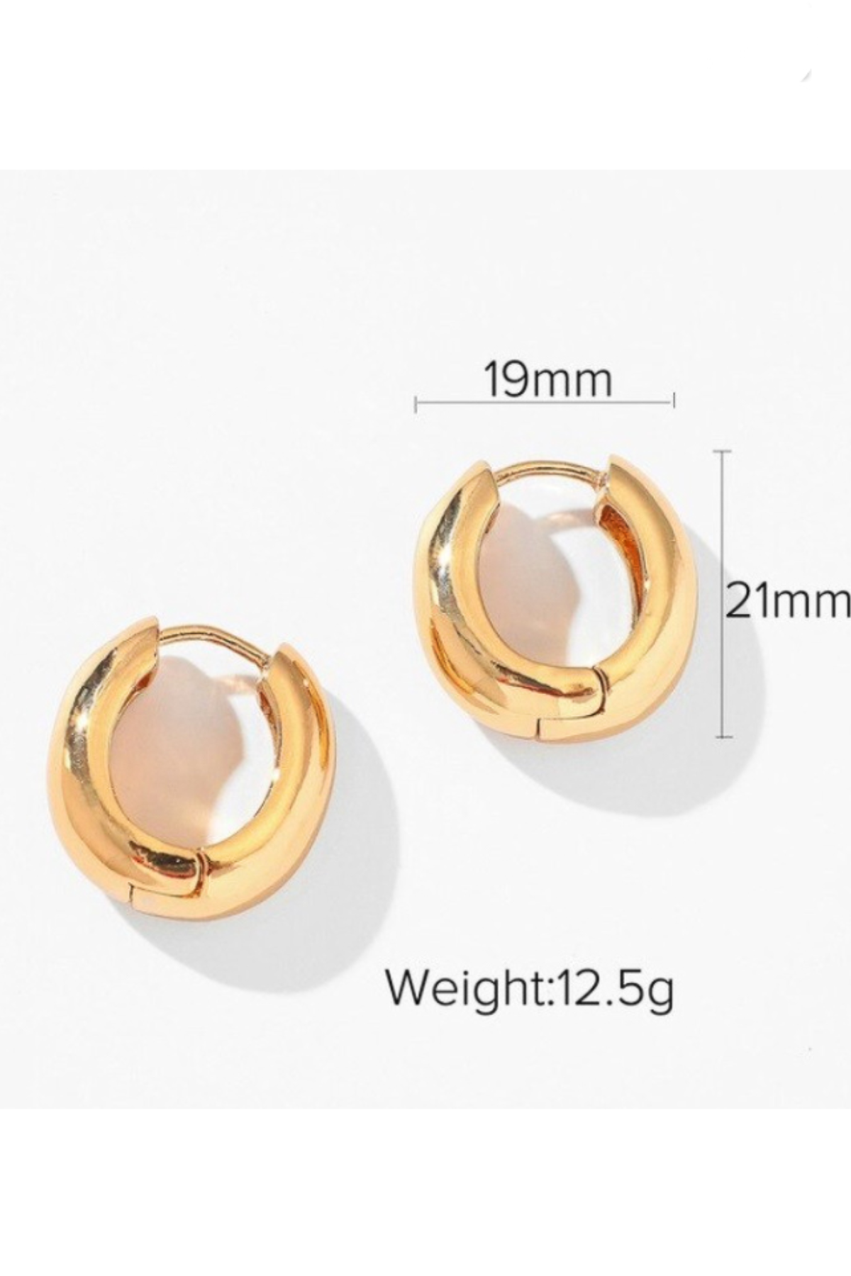 GOLD GEO SMALL HOOPS