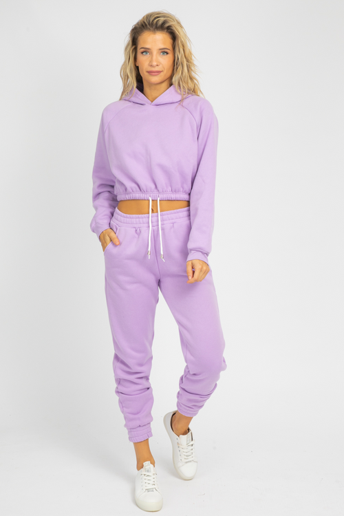 LILAC FRENCH TERRY JOGGER SET