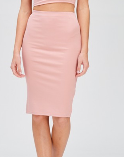 COSMO SKIRT IN BLUSH