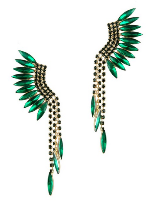 EMERALD ENVY EARRING