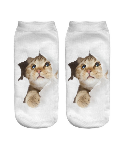 I LOVE MY CAT SOCKS