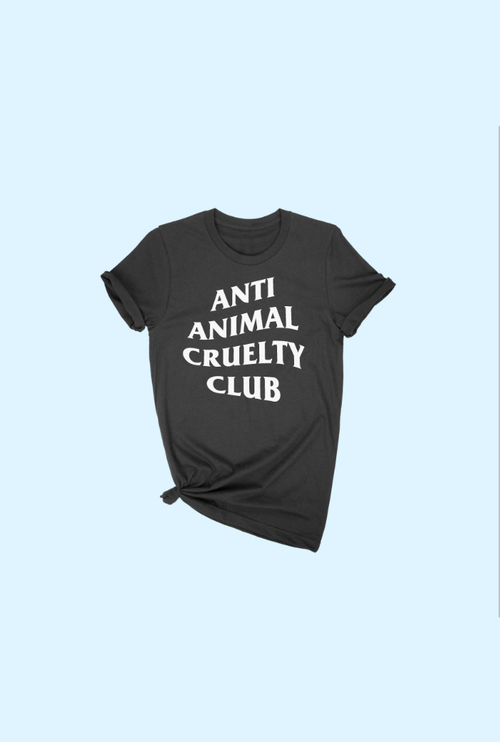 ANTI ANIMAL CRUELTY TEE