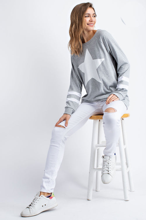 STAR FRONT PULLOVER