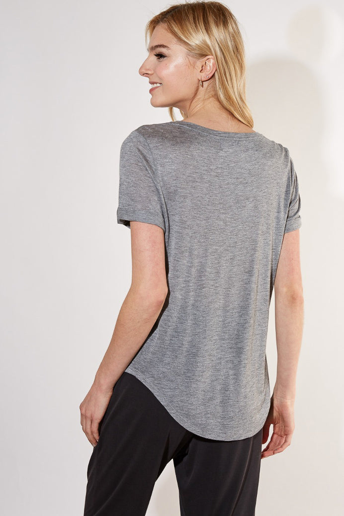 HOLY GRAIL GREY TEE