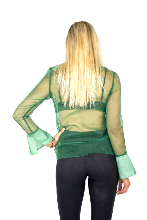 SHEER ENVY BLOUSE