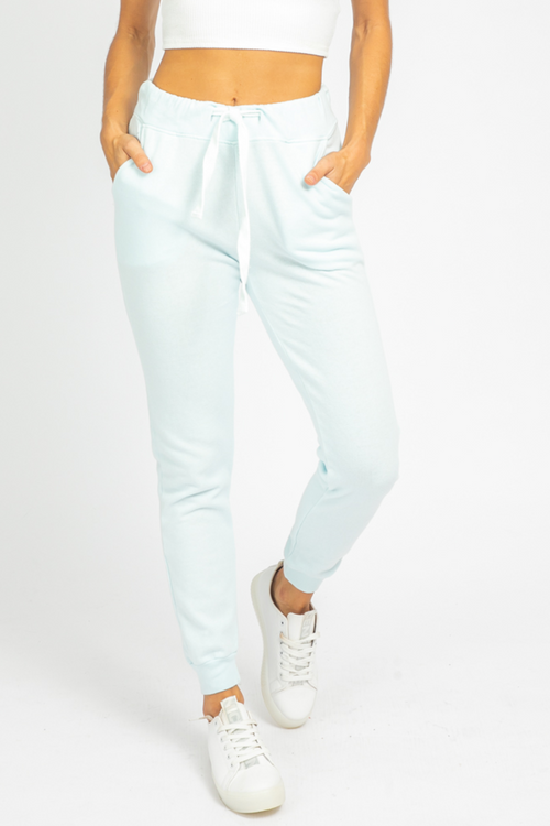 SOFT BABY BLUE JOGGERS