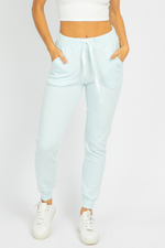 SOFT COTTON CANDY BLUE JOGGERS