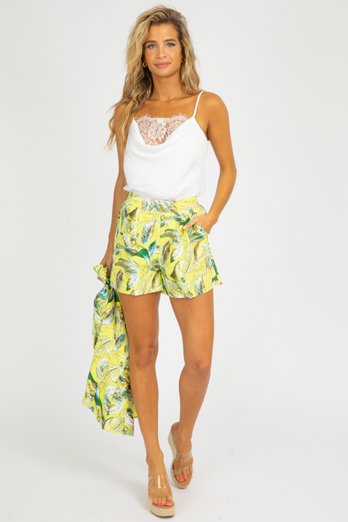 TROPICAL LIME BLAZER SET