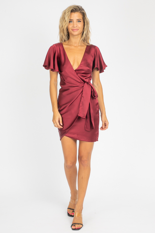 ESTELLA OPEN BACK DRESS