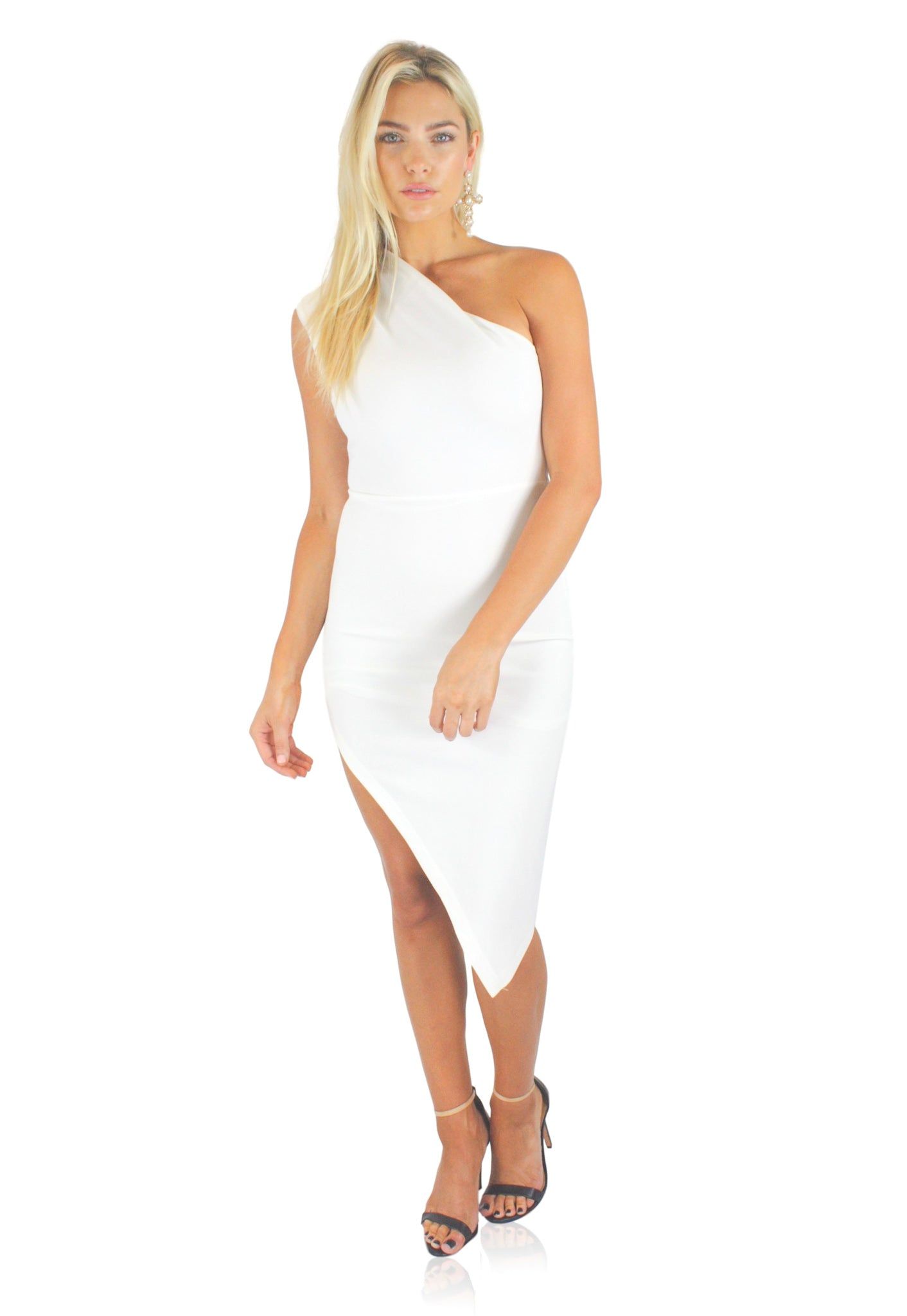 BABY SPICE DRESS IN WHITE