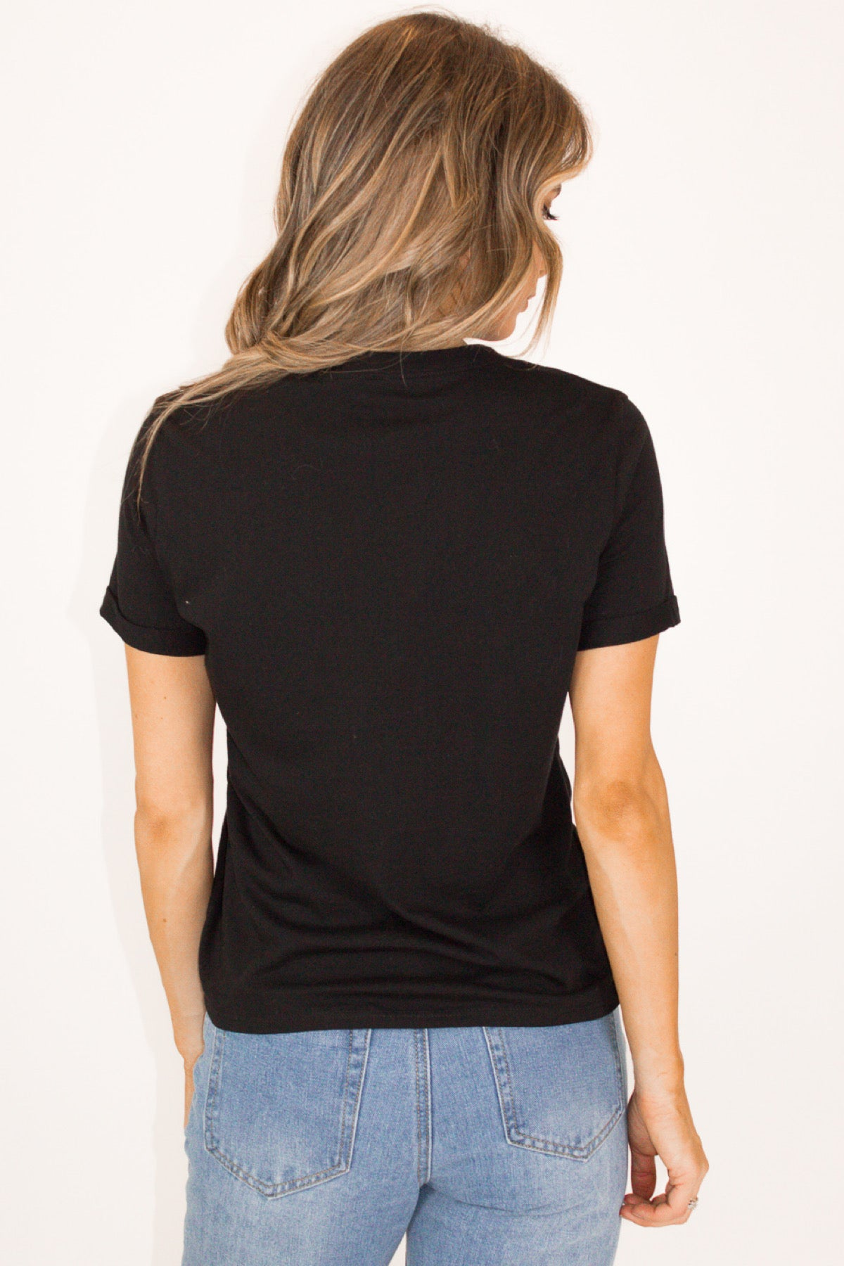 BANG GRAPHIC TEE IN BLACK