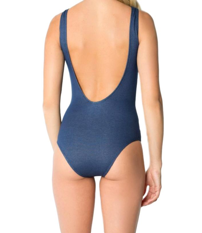 DENIM DAZED BODYSUIT|SWIMSUIT