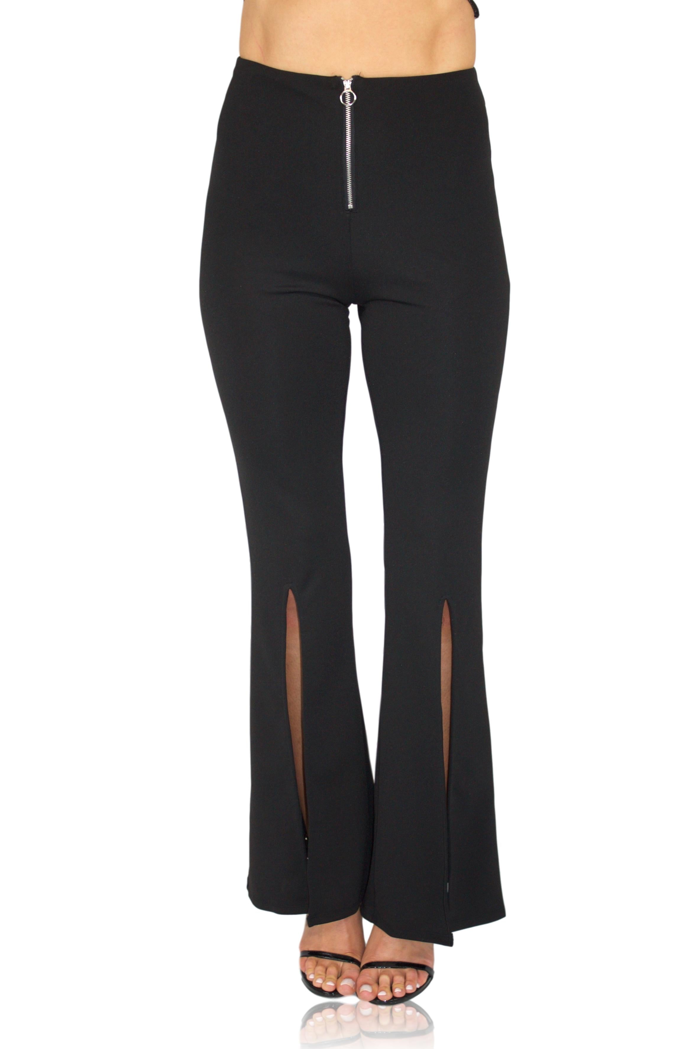 FLARE IT OUT PANT IN BLACK