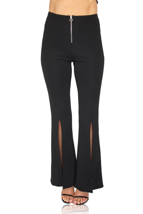 FLARE IT OUT PANT IN BLACK / FINAL CLEARANCE