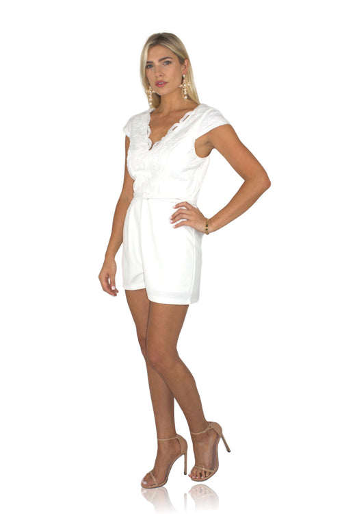 I DO, DO YOU? ROMPER