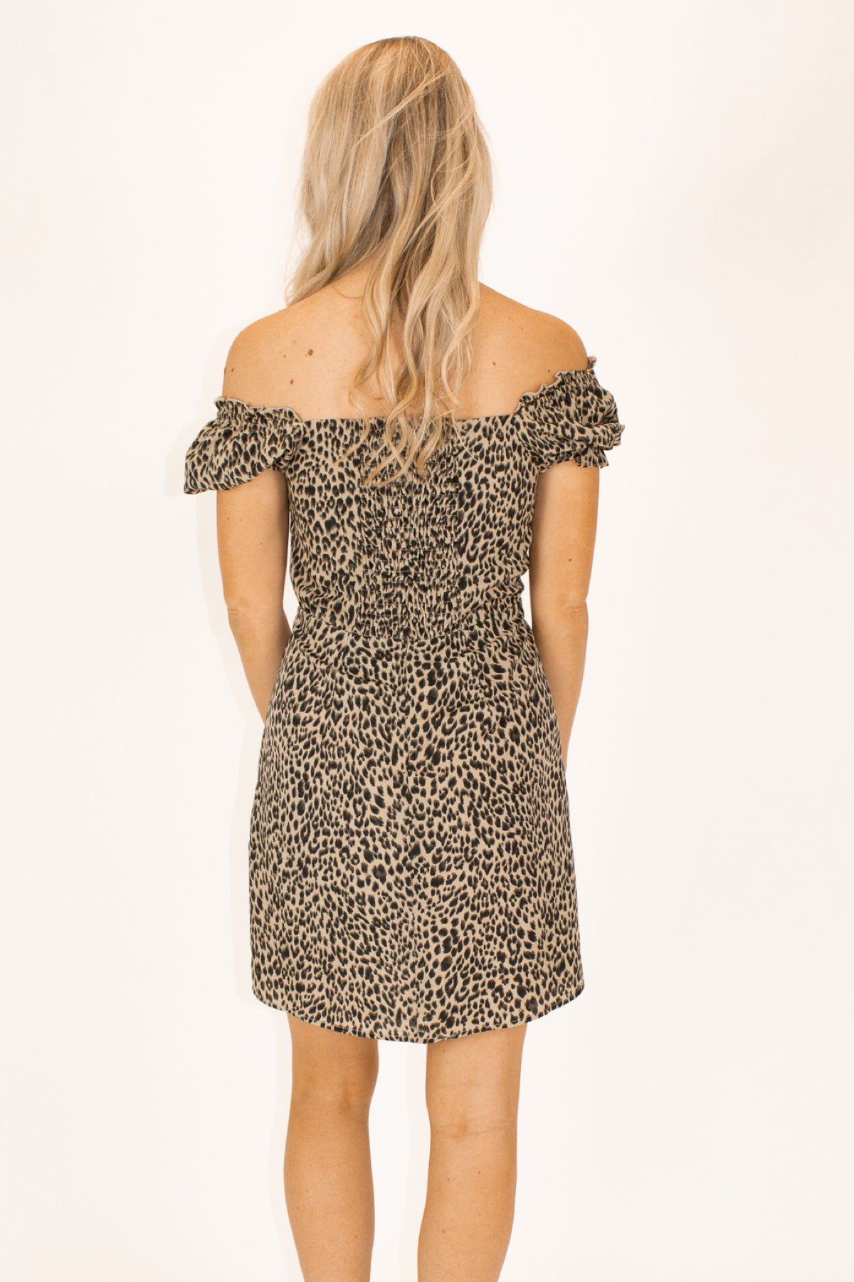 LEOPARD PRINT DRESS / FINAL CLEARANCE