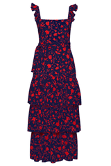 LIKELY CHARLOTTE DRESS IN NAVY