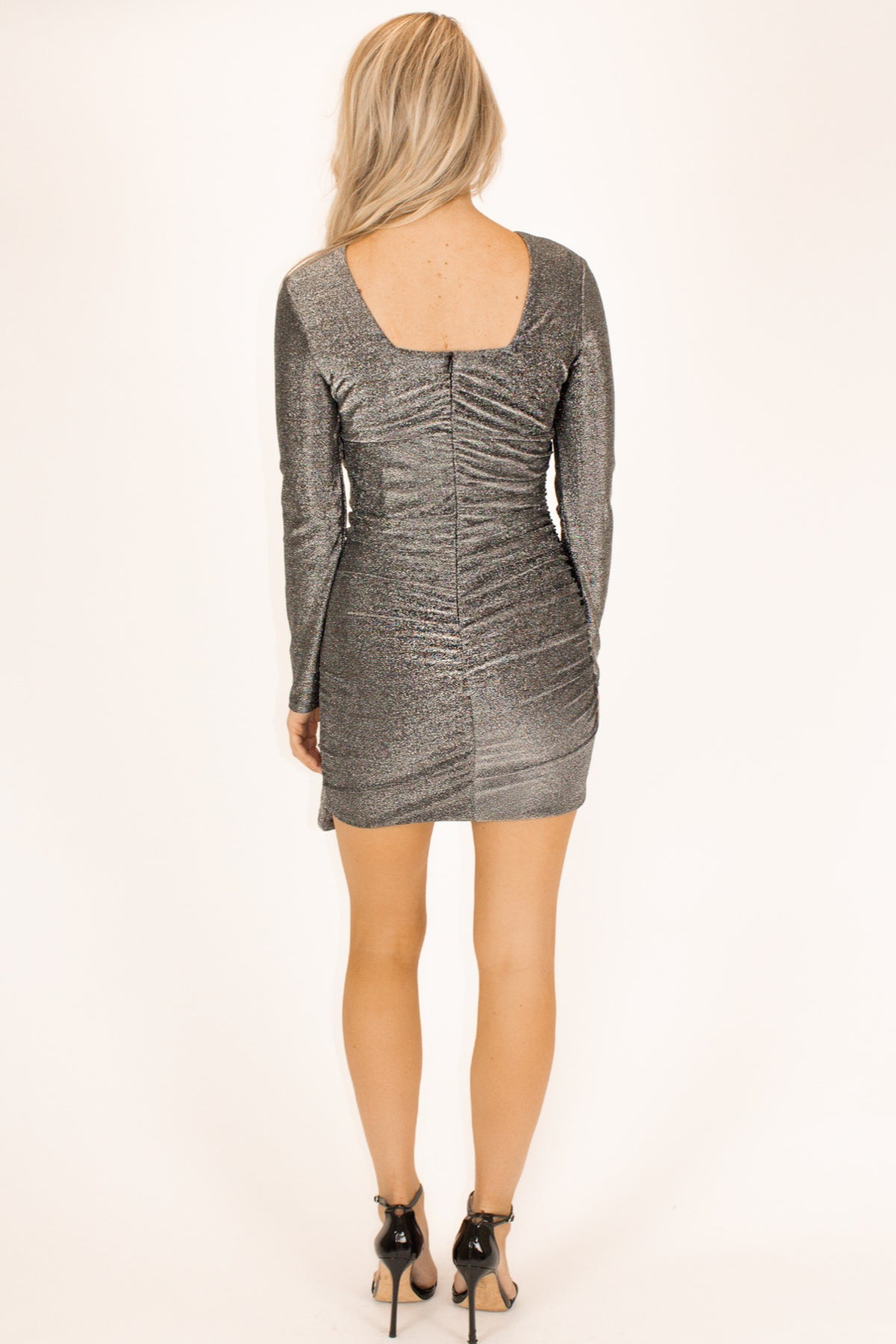 SILVER SHIMMER STATEMENT MINI