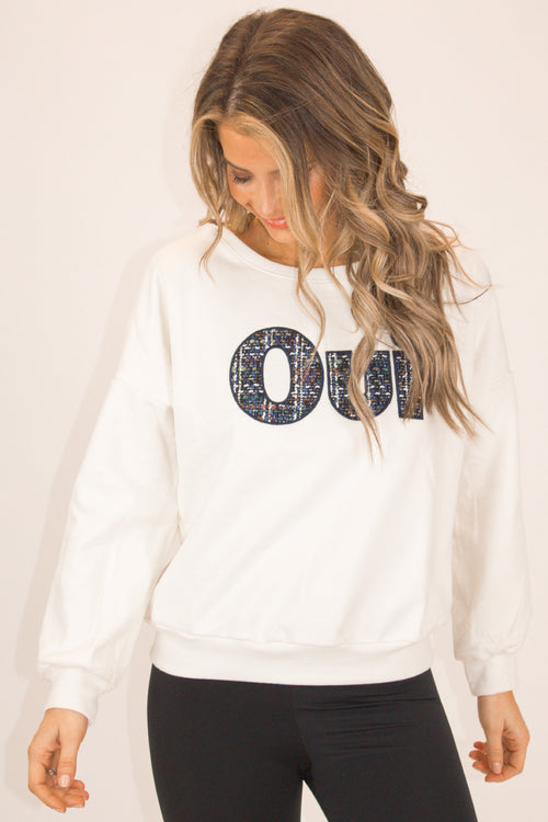 OUI PATCH PULLOVER