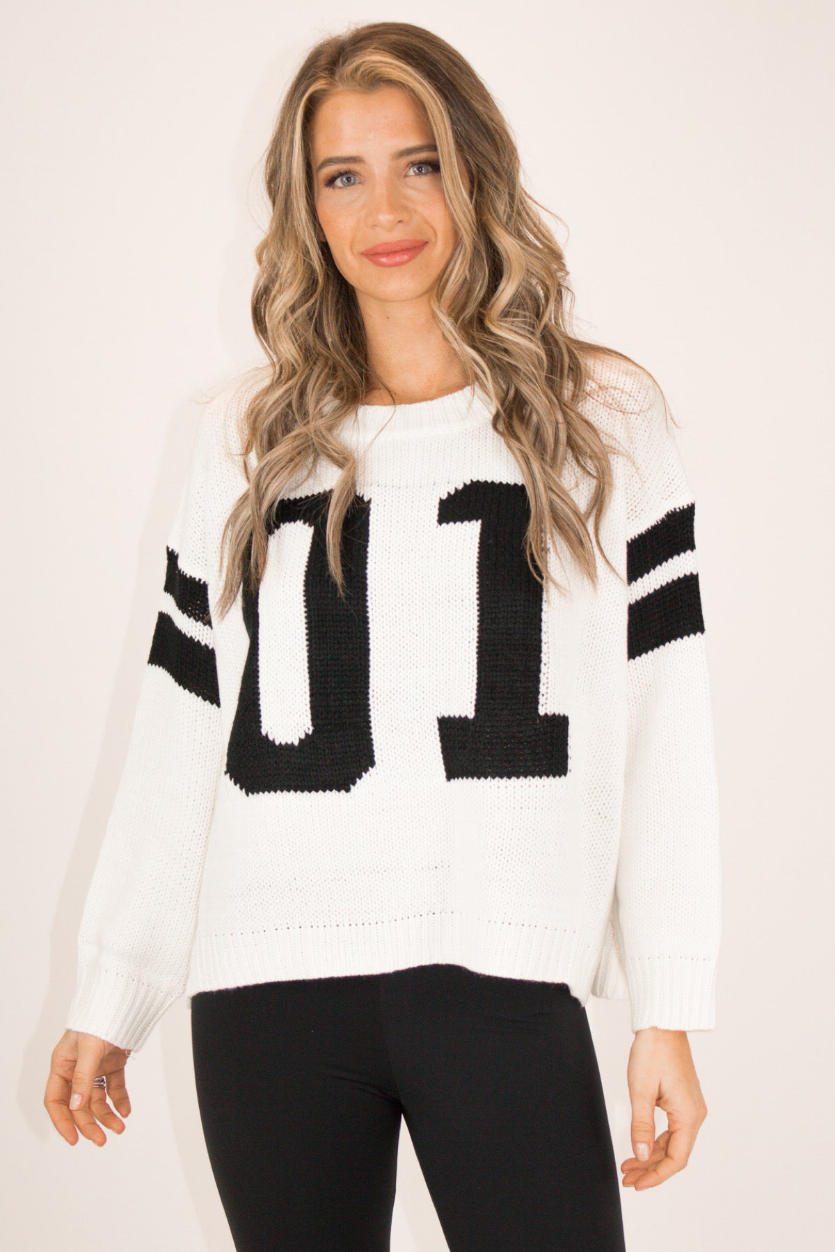 VARSITY NUMBER ONE SWEATER