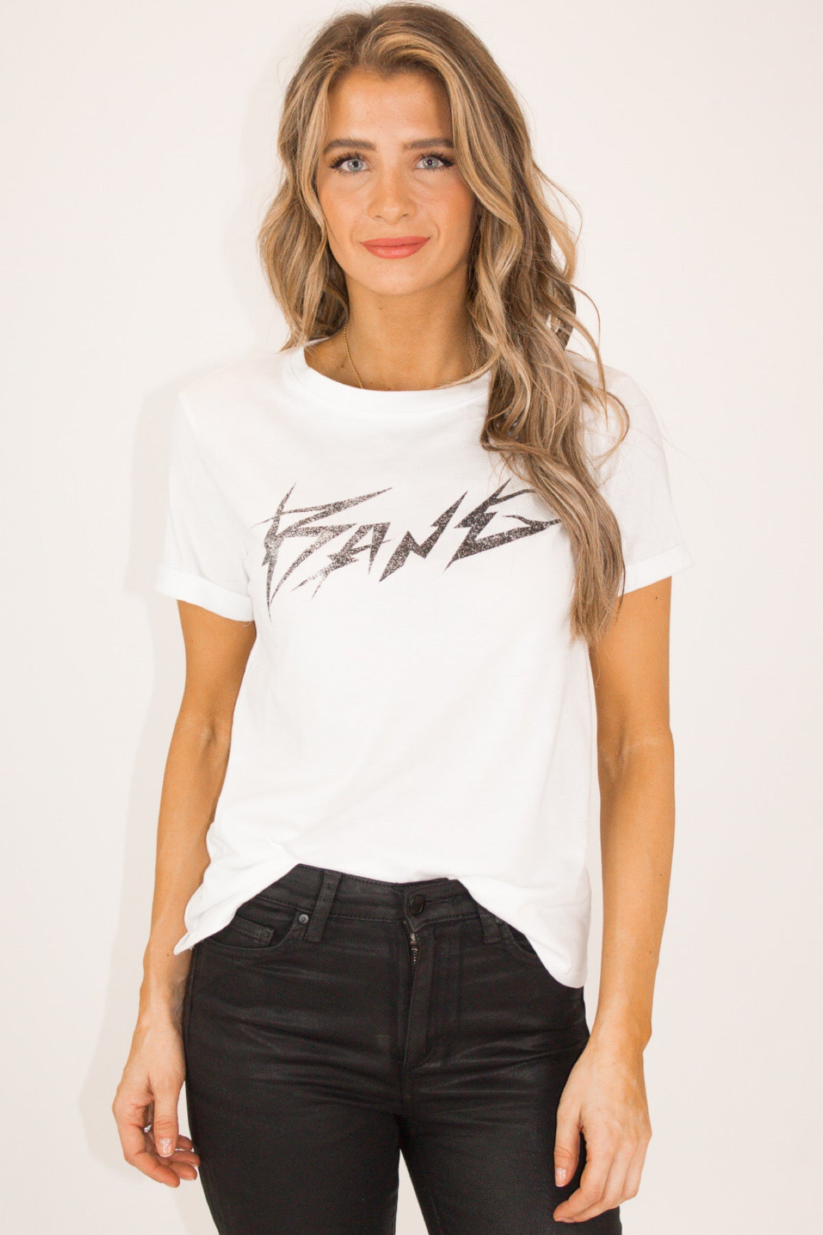 BANG GRAPHIC TEE IN WHITE