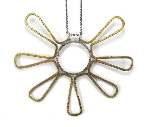 Crop Circle Necklace