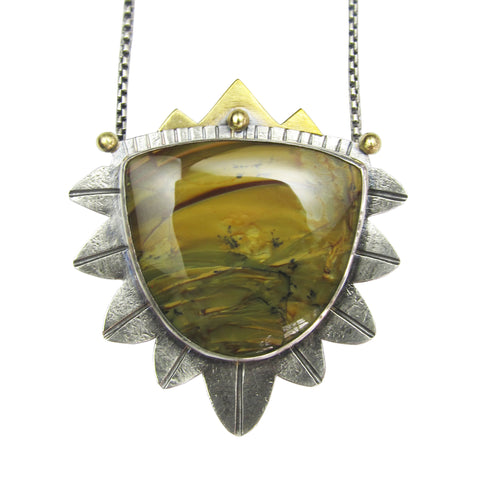 Desert Landscape Necklace - OOAK