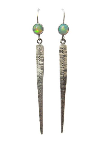 Opal Dagger Earrings