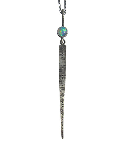 Opal Dagger Necklace