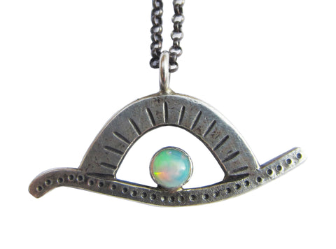 Opal Sunrise Necklace