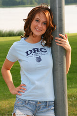 "Ladies Cotton T-Shirt ""DRC"""