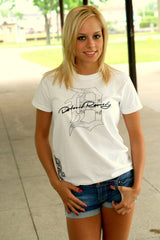 "Ladies Cotton T-Shirt ""D-PhotoScript"""