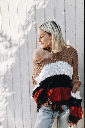 Autumn Stripe Sweater