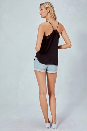 Black Zarina Cami by Lovestitch Clothing