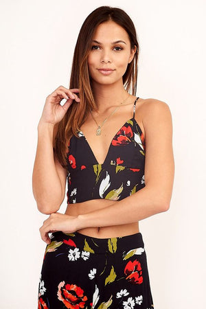Roma Rose Crop Top