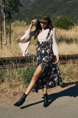 Bloom Overall Dress by Sage the Label