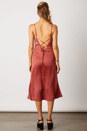 Heading Out Satin Slip