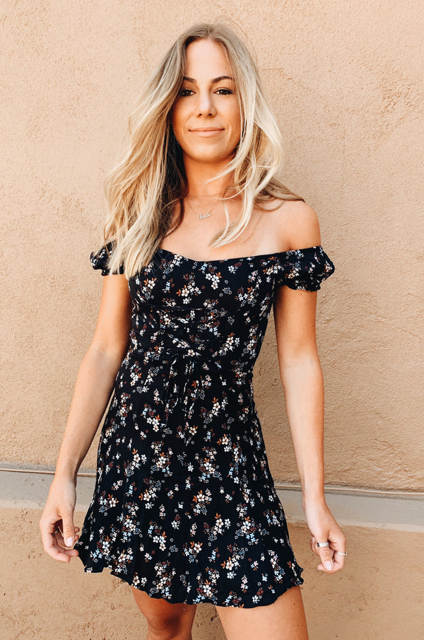 Brownstone Floral Dress