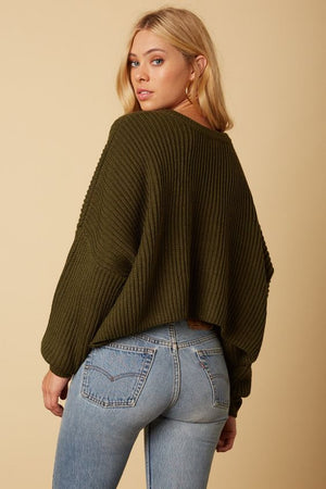 Fleetwood Green Sweater